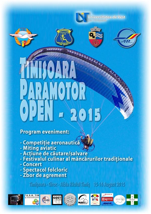 Afis TM Para Open 2015