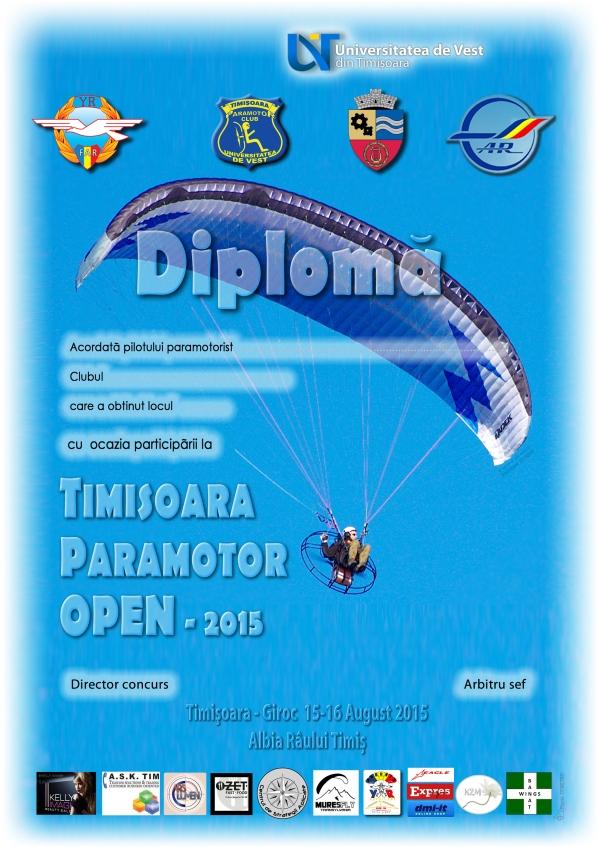 Diploma TM Para Open 2015